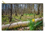 Daffodils And Birch Carry-all Pouch