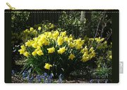 Daffodils And Bluebells Carry-all Pouch
