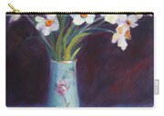 Daffodils And Cherries Carry-all Pouch