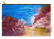 Daffodils At The Beach Carry-all Pouch