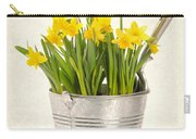 Daffodils Carry-all Pouch by Amanda Elwell