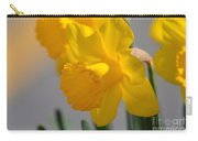 Daffodils In The Setting Sun Carry-all Pouch