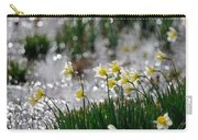 Daffodils On The Shore Carry-all Pouch