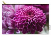 Dahlia And Mums Carry-all Pouch