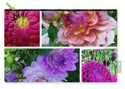 Dahlia Best Collage Carry-all Pouch