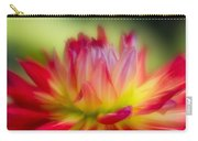 Dahlia Color Explosion Carry-all Pouch