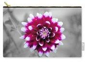 Dahlia Flower 2 Carry-all Pouch