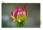 Dahlia Flower Bud Carry-all Pouch
