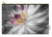 Dahlia Flower Splendor Carry-all Pouch