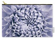 Dahlia Flower Star Burst Purple Carry-all Pouch