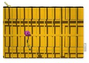 Dahlia In Yellow Gate Carry-all Pouch