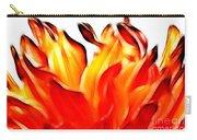 Dahlia On Fire Carry-all Pouch