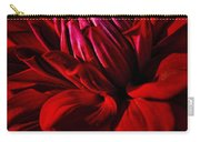 Dahlia Red Carry-all Pouch