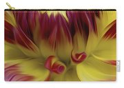Dahlia Red Yellow Carry-all Pouch