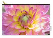 Dahlia Speak To Me In Pink Carry-all Pouch