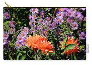 Dahlias And Asters Carry-all Pouch