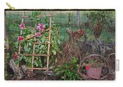 Dahlias And Chickens Carry-all Pouch