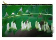 Dainty White Flowers Central Park Carry-all Pouch