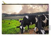 Dairy Cows At Sunset Carry-all Pouch