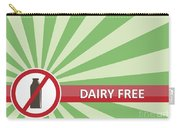 Dairy Free Banner Carry-all Pouch