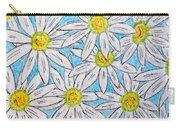 Daisies Daisies Carry-all Pouch