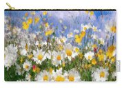 Daisies On A Hill - Impressionism Carry-all Pouch