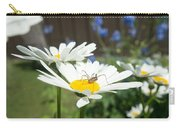 Daisies With Phalangiid Vistitor Carry-all Pouch