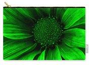 Daisy Daisy Neon Green Carry-all Pouch