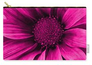 Daisy Daisy Neon Pink Carry-all Pouch