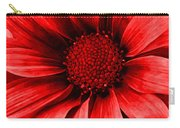 Daisy Daisy Neon Red Carry-all Pouch