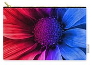 Daisy Daisy Red To Blue Carry-all Pouch