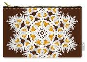 Daisy Mandala  12t Carry-all Pouch