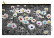 Daisy Rainbow Carry-all Pouch