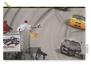 Dale Earnhardt Wins Daytona 500-checkered Flag Carry-all Pouch