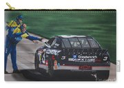 Dale Earnhardt Wins Daytona 500-pit Road Hand Shake Carry-all Pouch