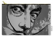 Dali In B W Carry-all Pouch