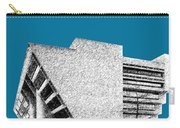 Dallas Skyline City Hall - Steel Carry-all Pouch