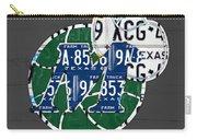 Dallas Mavericks Basketball Team Retro Logo Vintage Recycled Texas License Plate Art Carry-all Pouch