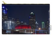 Dallas Skyline Arts District At Night Carry-all Pouch