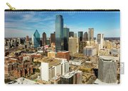 Dallas Skyline As Seen From Reunion Carry-all Pouch