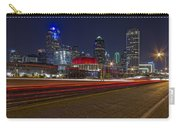 Dallas Skyline At Night Carry-all Pouch