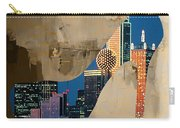 Dallas Texas Skyline In A Shoe. Carry-all Pouch
