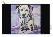 Dalmatian Puppy Carry-all Pouch