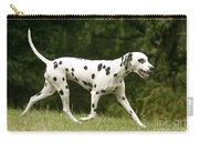 Dalmatian Running Carry-all Pouch