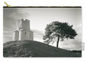 Dalmatian Stone Church On The Hill Carry-all Pouch by Brch Photography