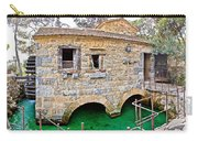 Dalmatian Village Traditional Stone Watermill Carry-all Pouch