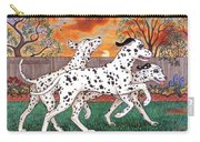 Dalmatians Three Carry-all Pouch
