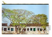 Damaged Colonial Buildings Carry-all Pouch by Jess Kraft
