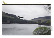 Dambusters Lancaster At The Derwent Dam Carry-all Pouch