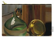 Dame-jeanne And Caisse Carry-all Pouch